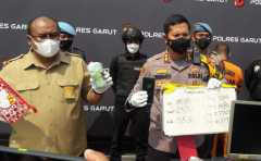 Dua pengepul judi daring di Garut terancam hukuman 10 tahun penjara